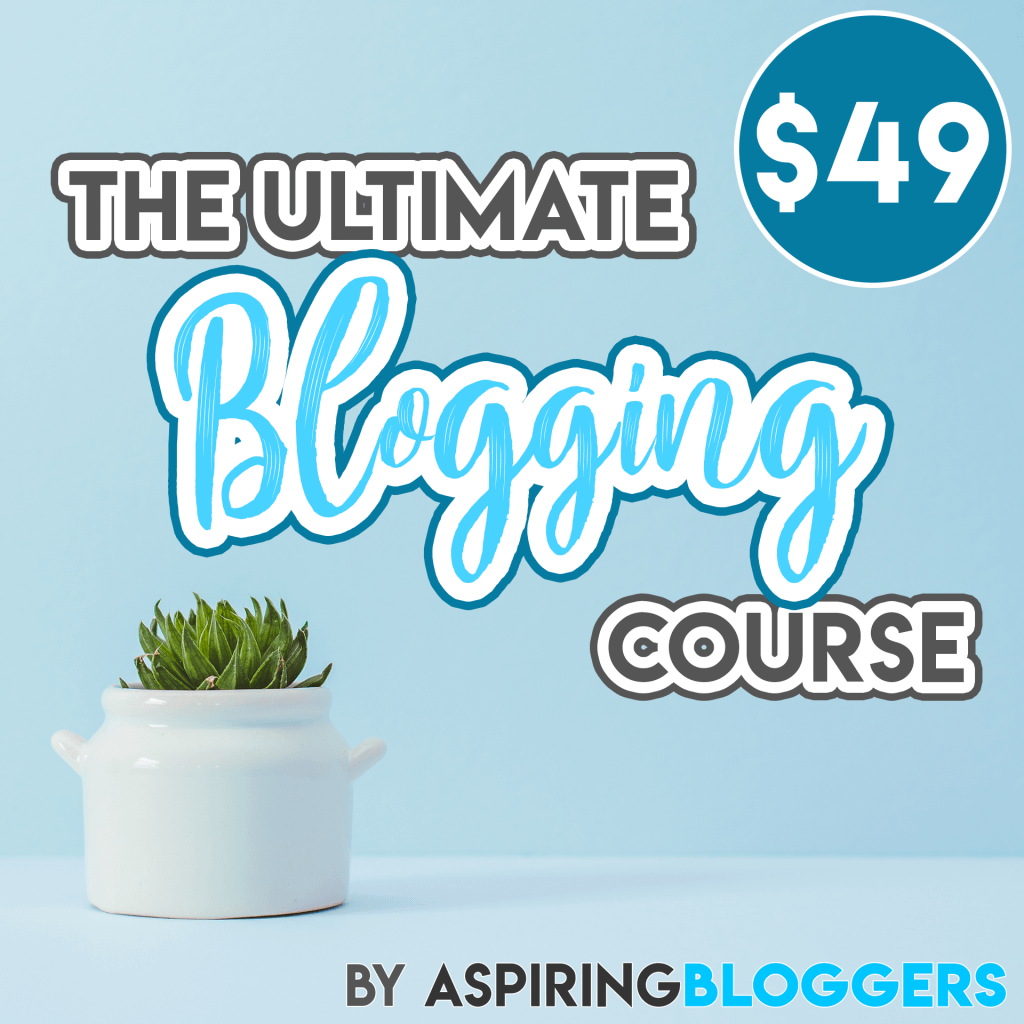 The Ultimate Blogging Course