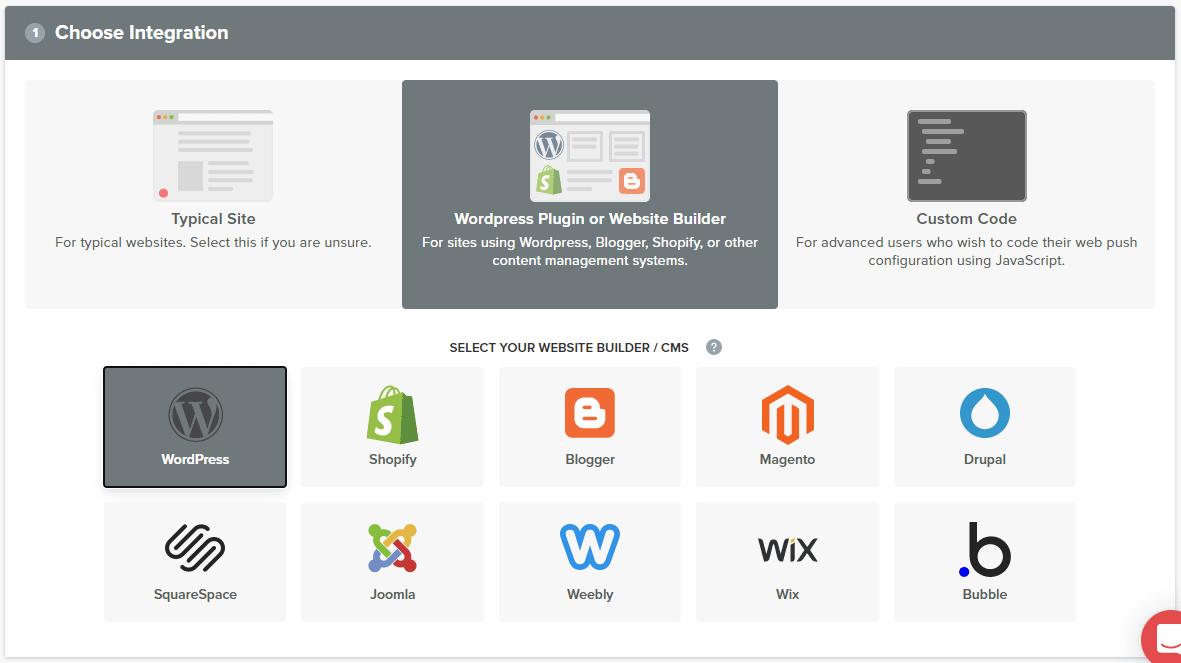 OneSignal - WordPress