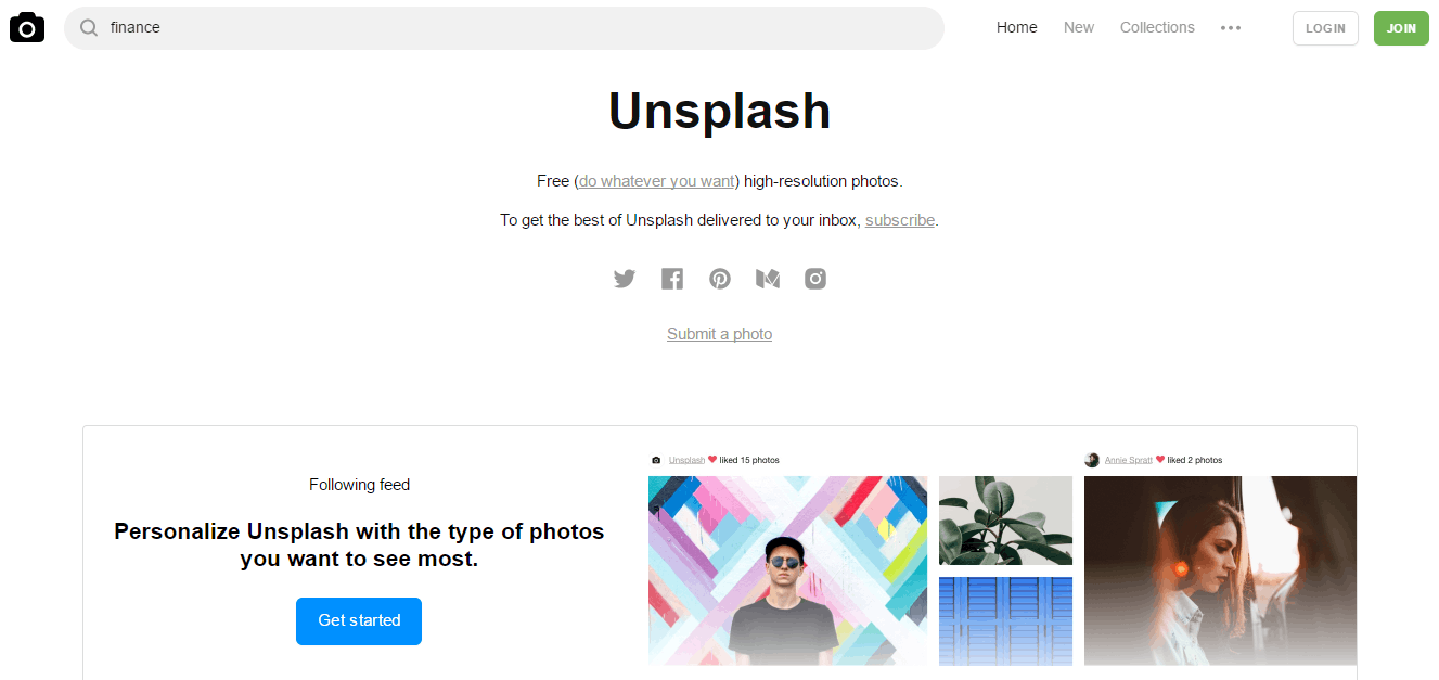 Unsplash - Free Stock Photos