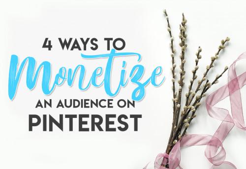 Monetize Pinterest