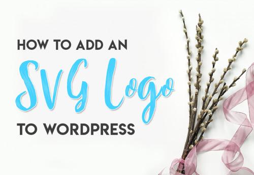 WordPress SVG Image