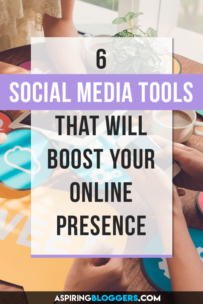 6 Social Media Tools That Will Grow Your online Presence. Social Media Tips | Social Media Marketing | Social Media Tools Free | Social Media Tools for Bloggers #socialmediatips