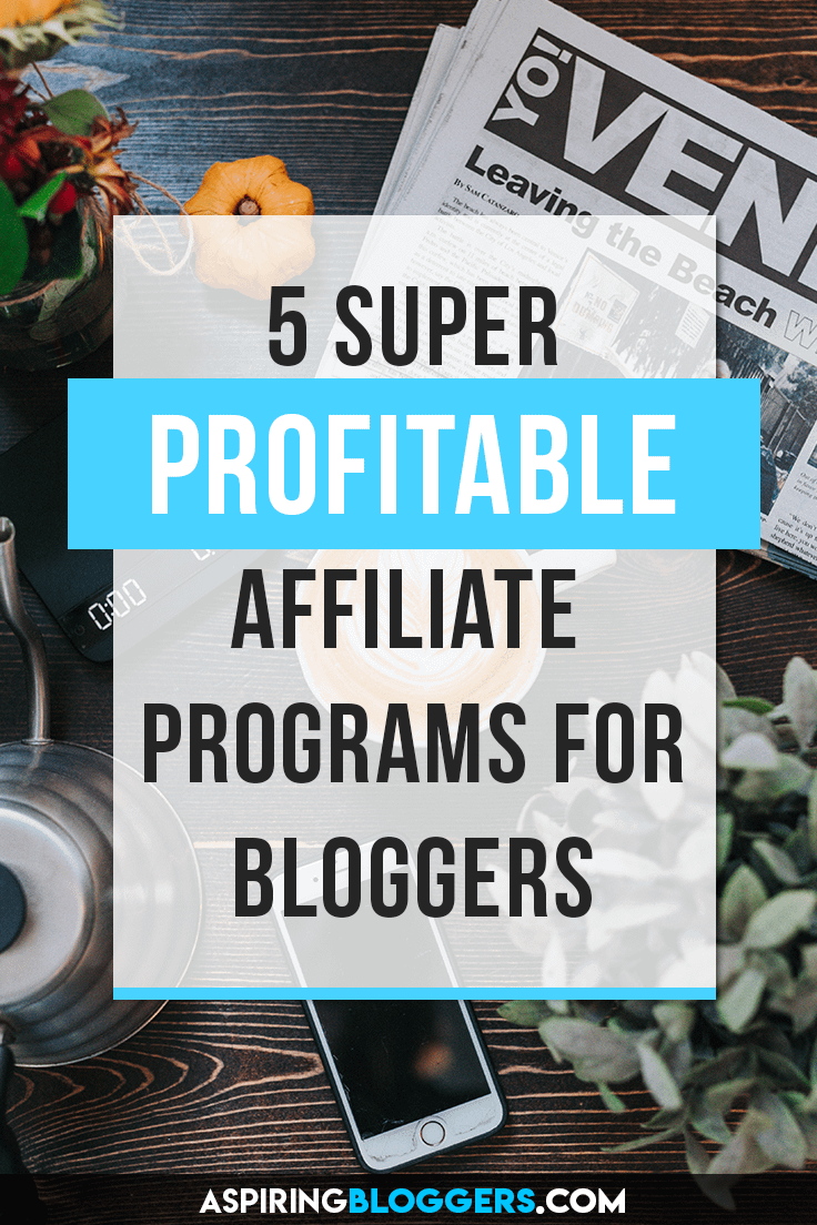5 Awesome Affiliate Programs for Beginners. How to make money online, how to make money at home, how to make money from home, affiliate marketing for beginners, affiliate marketing tips.