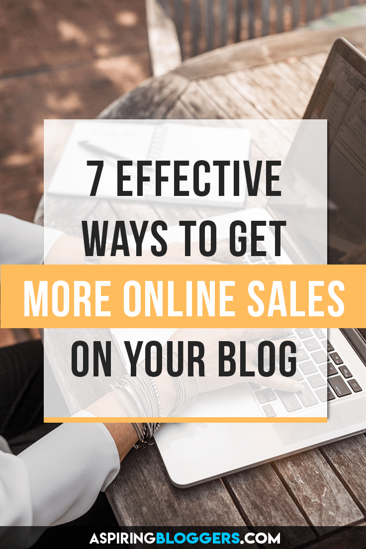 Learn 7 super effective ways to get more online sales for your business. Start converting more visitors into customers! Make money online, make money at home, make money from home, make money on the side, online sales tips, online entrepreneurship.