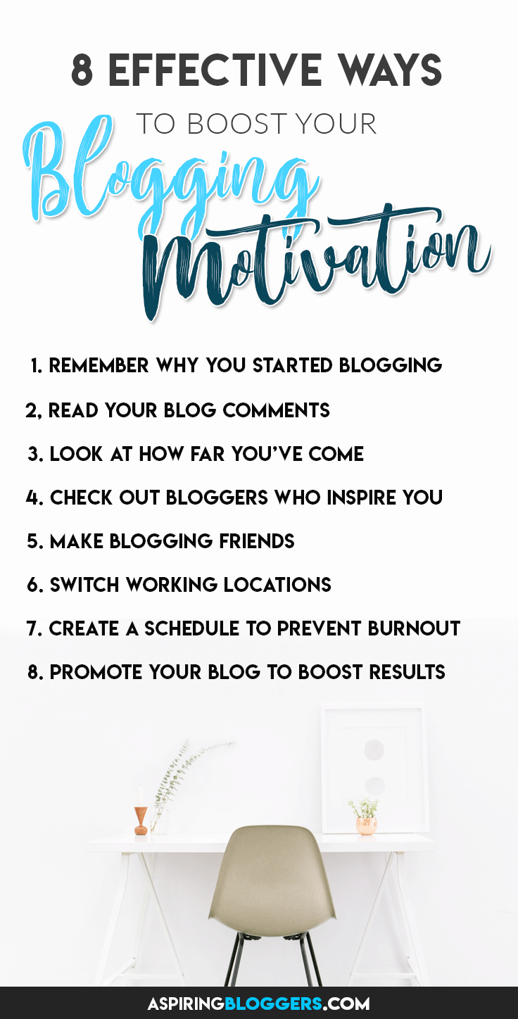 How to Boost Your Blogging Motivation. Blogging motivation tips | Blogging Motivation