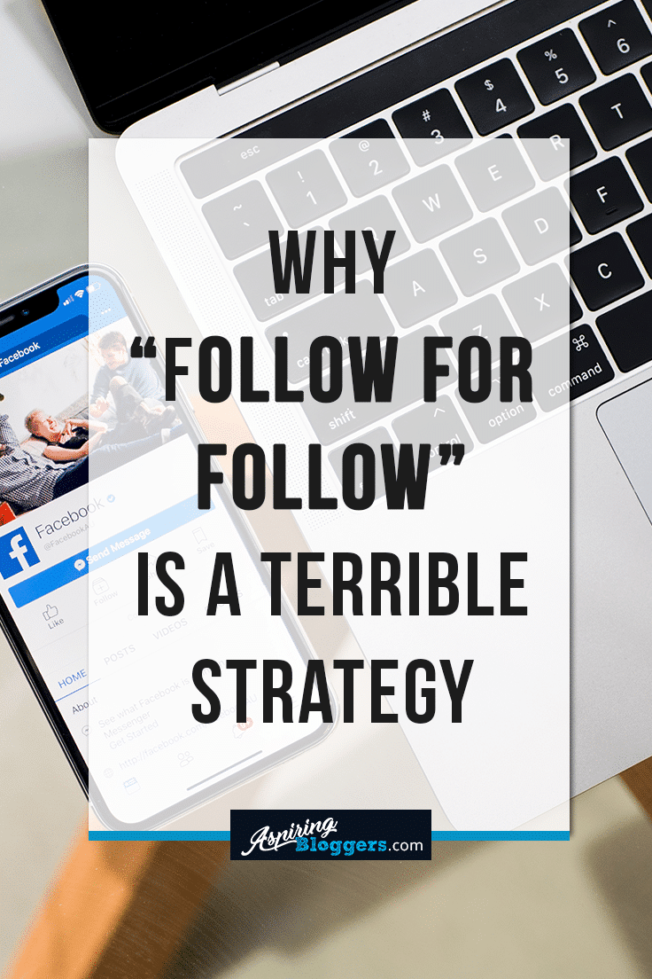"""Why """"Follow for Follow"""" is a Terrible Strategy"""