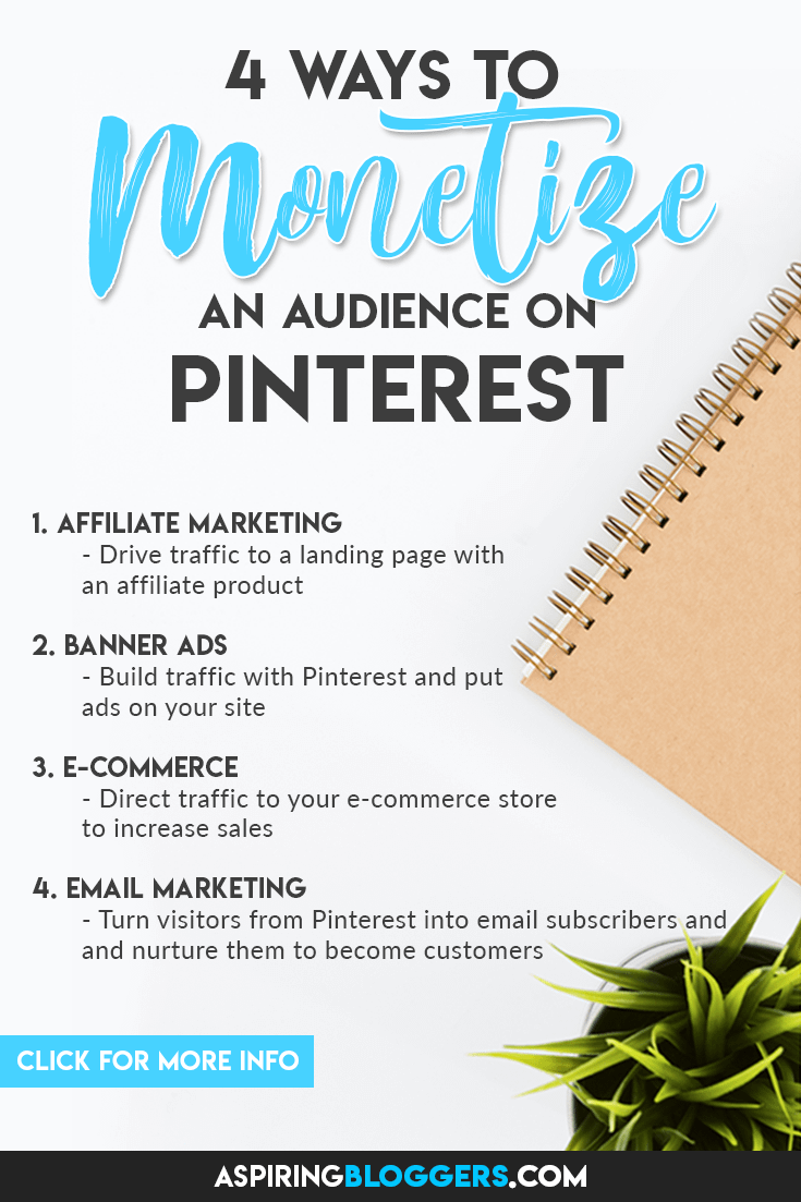 4 Ways To Monetize A Pinterest Audience